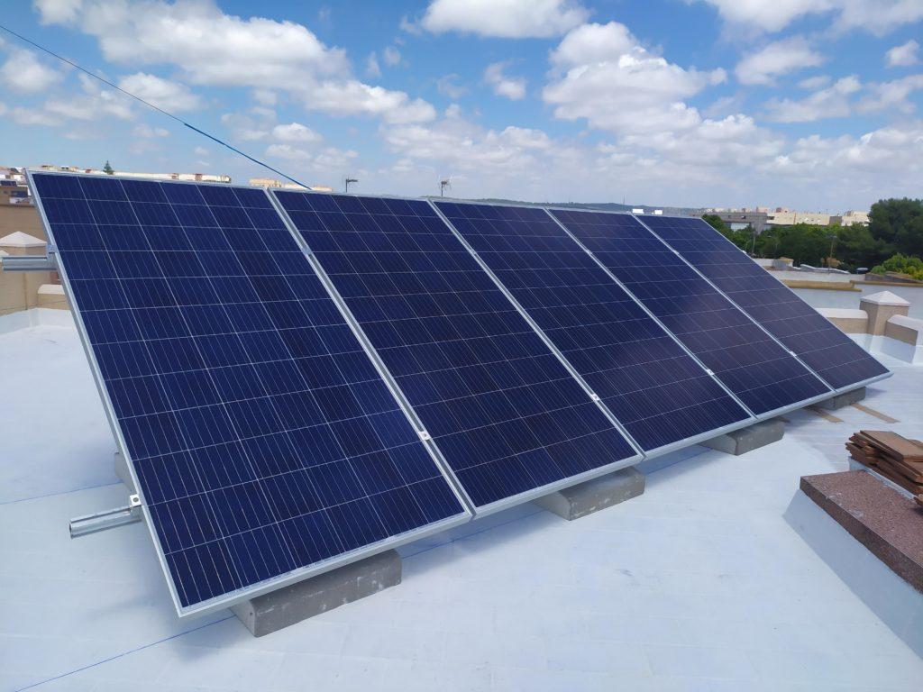 Energía del sol - Paneles fotovoltaicos