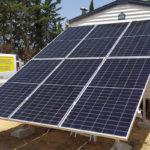 instalación fotovoltaica mobil home
